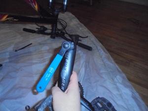 bike crank arm